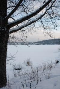 LlacVesijärvi a Lahti - Lago Vesijärvi en Lahti