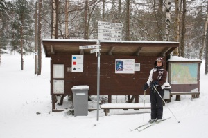 Circuit d'esquí de fons / Circuito de esquí de fondo