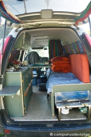 Interior Campervan