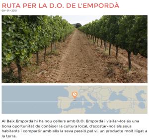 Imatge article DO Empordà